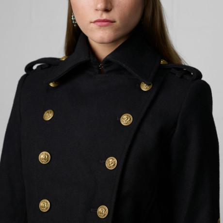Denim & Supply Military Wool Coat | Harrods