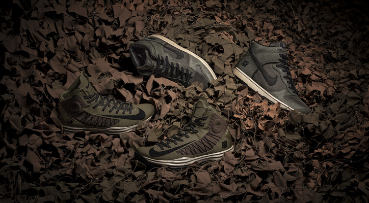 """Nike x Undefeated """"Bring Back 2003"""" 発売決定 - sneaker resource"""