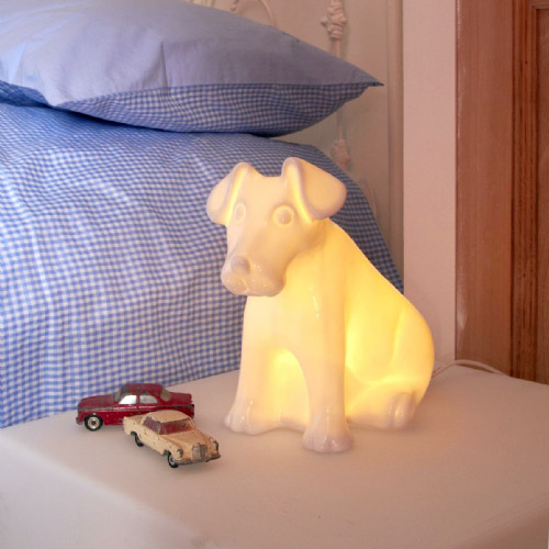 Dog lamp - Buy a Dog lamp from White Rabbit England - Lamps -