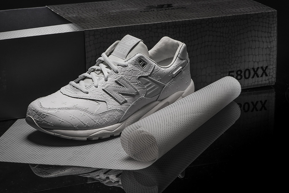 THING: New Balance MRT580XX All-White Special Edition Launch | Streething