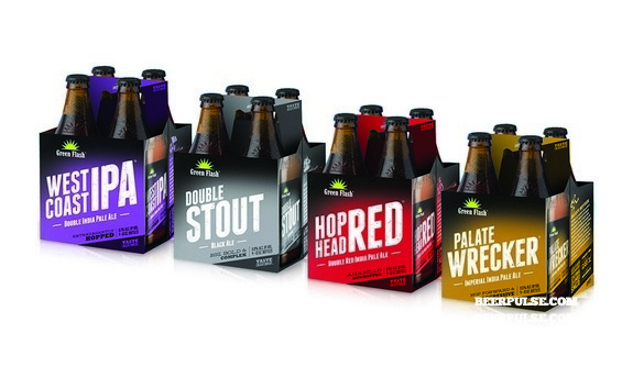 Green Flash Brewing Co. shows off redesign, set to roll out starting in late April | BeerPulse