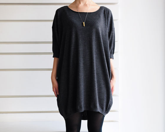 Acne:melino knit dress(grey)- CUL DE PARIS online store