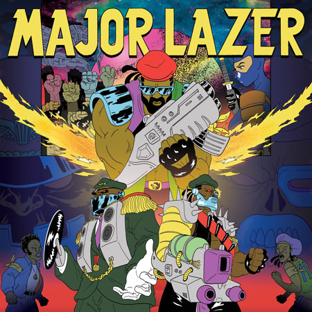 Major Lazer - New Album 'Free The Universe' Out 4/15 - Pre-Order Now