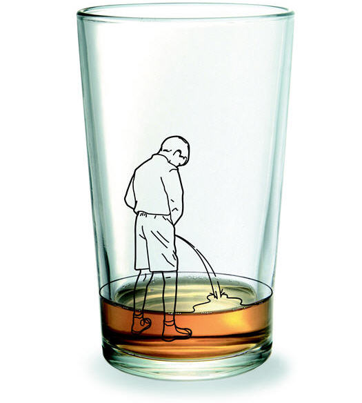 Manneken Piss Drinking Glass