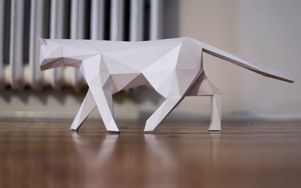 PAPER CAT on Behance