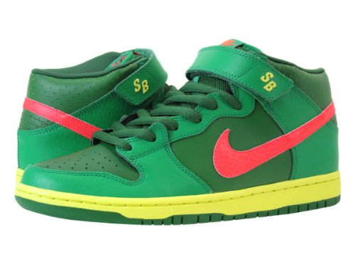 Amazon.co.jp: [ナイキ]NIKE DUNK MID PRO SB 【WATERMELON】 GREEN/RED/YELLOW [並行輸入品]: シューズ&バッグ