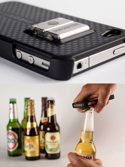 Fancy - Intoxicase Bottle Opener iPhone Case