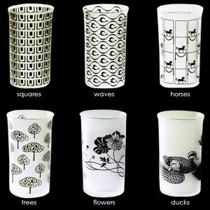 Corning Tumblers By Peter Rath & Monica Flood-Grimburg For Lobmeyr - Lobmeyr - Home Furnishings - Unica Home