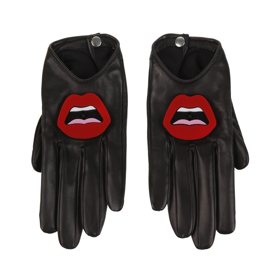 colette CAUSSE x YAZBUKEY Gloves and clutch