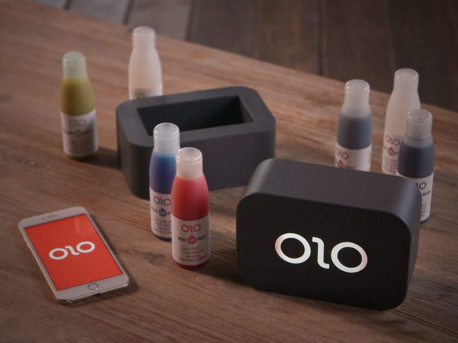 OLO - The First Ever Smartphone 3D Printer. by OLO 3D Inc. — Kickstarter