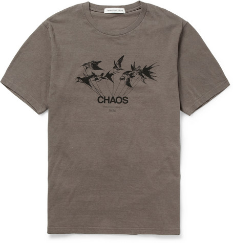 Undercover - Printed Cotton-Jersey T-Shirt |MR PORTER