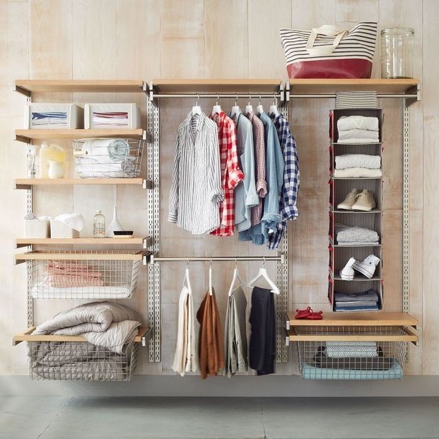 Fancy - Monorail Closet System