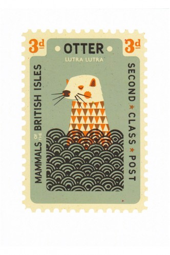 Otter Card by Tom Frost - Shop