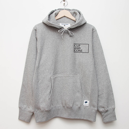 Cup of Spring Hoodie - Grey - cup and cone WEB STORE