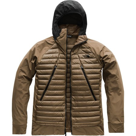 The North Face - Unlimited Down Hybrid Jacket - Men's - Beech Green/Tnf Black