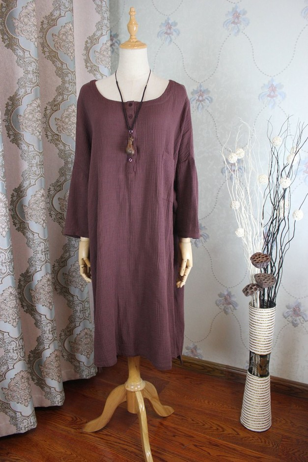 Women Loose Cotton dress Maternity Clothing Loose Fitting   Etsy