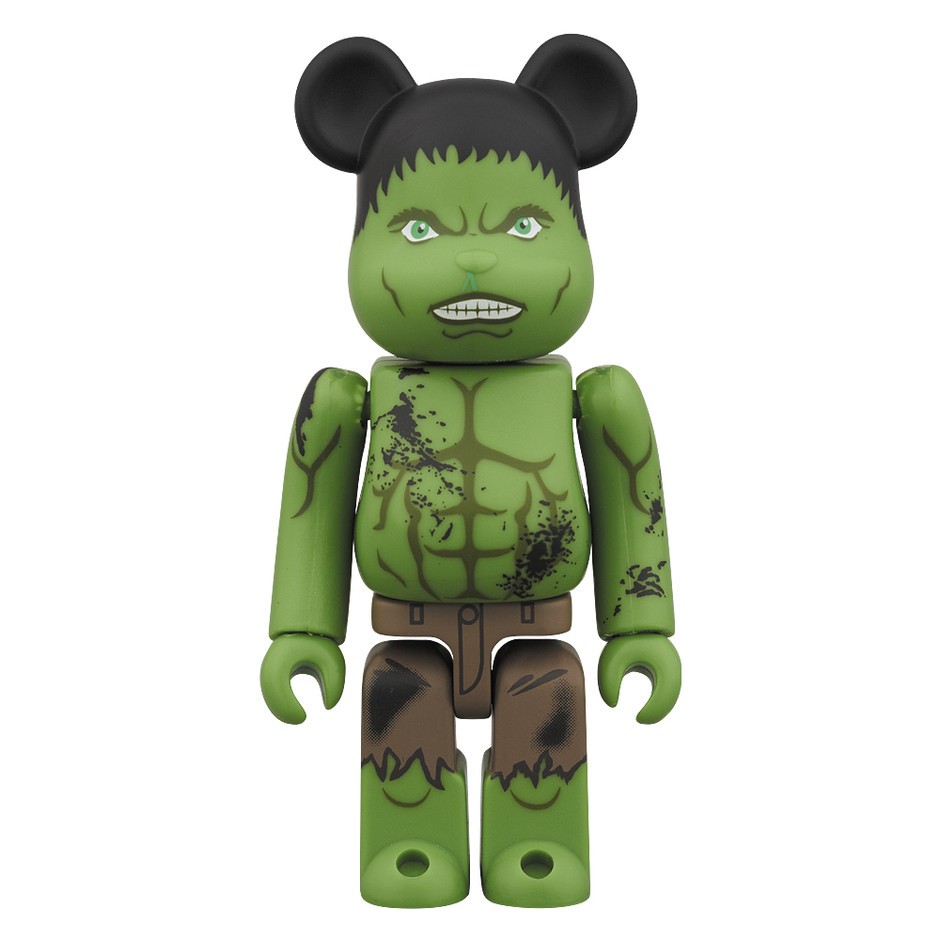 MEDICOM TOYオフィシャルHP - BE@RBRICK THE AVENGERS DAMAGE Ver. 100%
