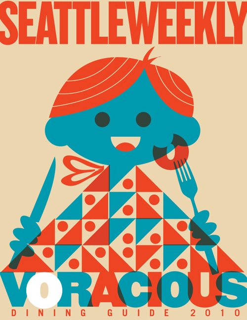 Seattle Weekly Dining Guide by Dan Stiles on Behance