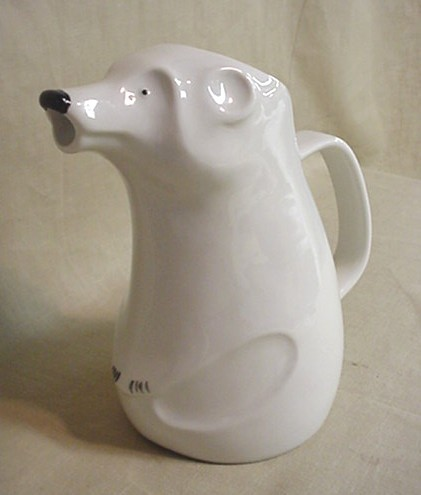 Arabia Design by Richard Lindh polar bear pitcher