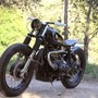 RocketGarage Cafe Racer: CBMW Bobber by Spirit Lake Cycle