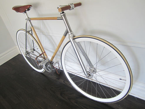 THE FIRM | Bike wooden