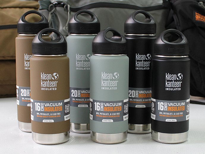 Klean Kanteen Wide Insulated - Mat Foliage 20oz.(クリーン・カンティーン ワイド インスレート マットフォリッジ 20オンス 591ml) - Eight Hundred Ships & Co.