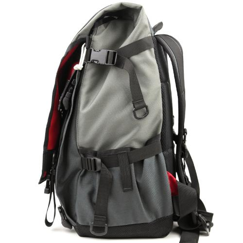 BLUE LUG / *ILE* flap top bag BL special (charcoal/gray/red)