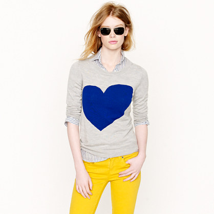 Tippi sweater in heart me - sweaters - Women's new arrivals - J.Crew