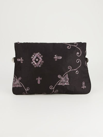 Antik Batik 'saro' Embroidered Clutch - - Farfetch.com