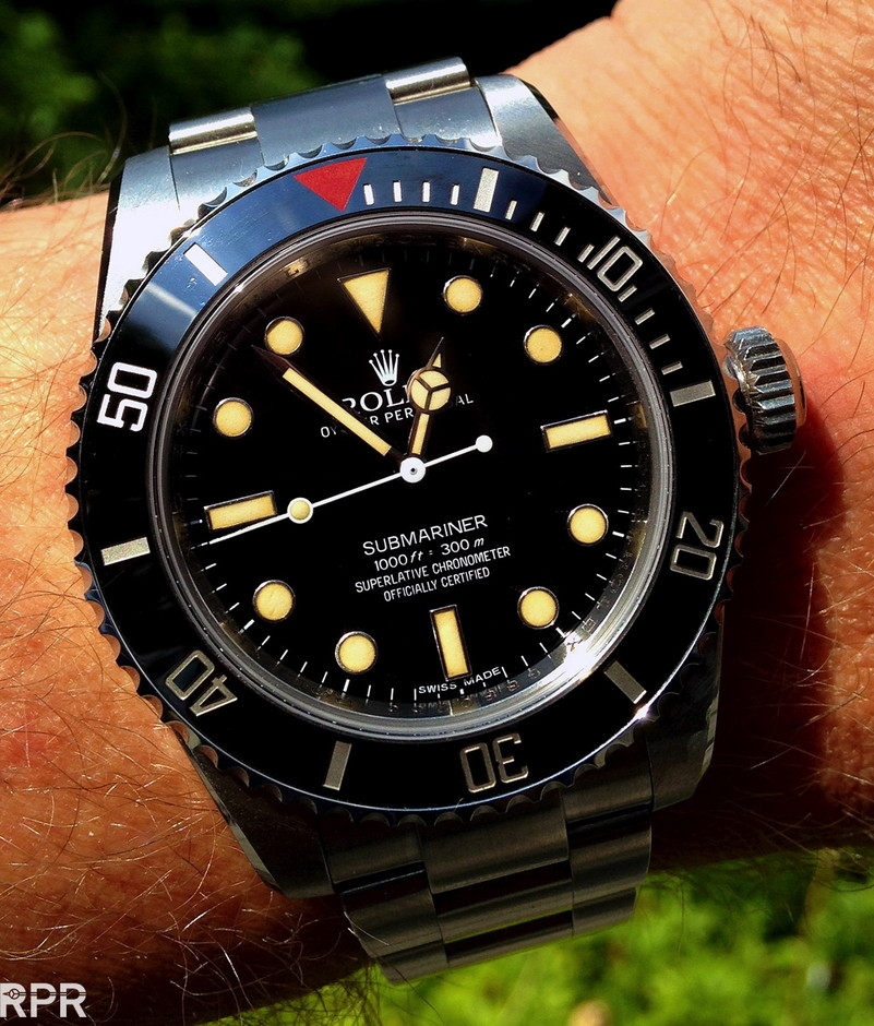 The Heritage Submariner Big Crown, 60th Anniversary Edition of the iconic Rolex Submariner fusion of modern and vintage!   Rolex Passion Report