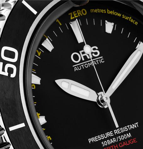 Oris - Aquis Depth Gauge Stainless Steel Watch
