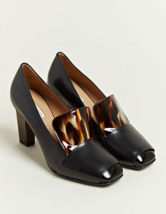 【LASO ラソ】30%OFF SALE■DRIES VAN NOTEN■High Vamp Shoes From AW 12 Collection In Black. ドリス ヴァン ノッテン