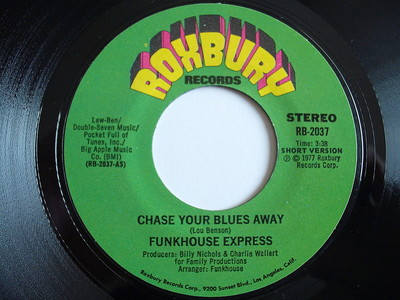 FUNKHOUSE EXPRESS CHASE YOUR BLUES AWAY NEAR MINT ORIGINAL SINGLE FROM 1977   eBay