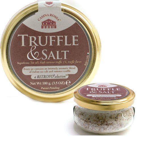 : Casina Rossa Truffle & Salt 3.5 oz. Jar: Grocery & Gourmet Food
