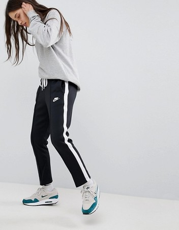 Polyknit Track Pants In Black