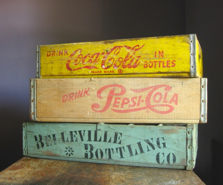 old wooden crates   Baskets & Crates