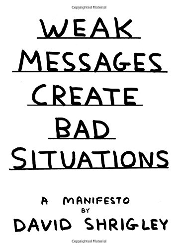 weak messages create bad situation - Google Search