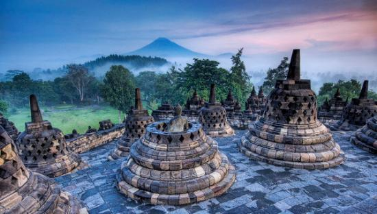 Temple of Borobudur Photo, Nature Wallpaper – National Geographic Photo of the Day