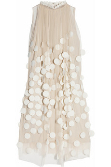 Stella McCartney?|?Spot-appliqued tulle dress?|?NET-A-PORTER.COM