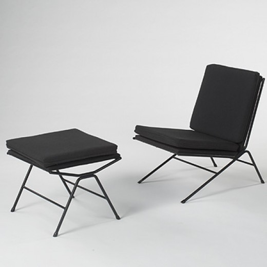 175: Allan Gould / lounge chair and ottoman < Mass Modern, 23 June 2007 < Auctions | Wright