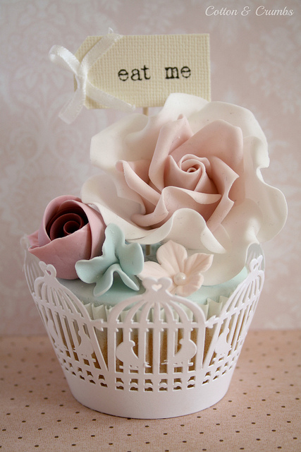 Cute birdcage wrappers | Flickr - Photo Sharing!