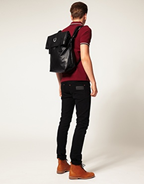 Fred Perry | Fred Perry Deconstructed Backpack at ASOS