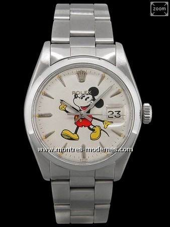 OYSTER MICKEY MOUSE WATCH