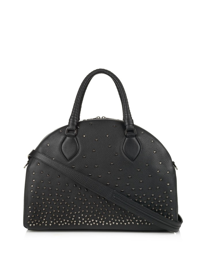 Panettone large degrade-spikes leather tote | Christian Louboutin | MATCHESFASHION.COM