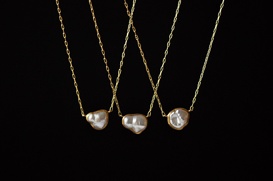 Medium Keshi Pearl Necklace - SOURCE - SOURCE objects