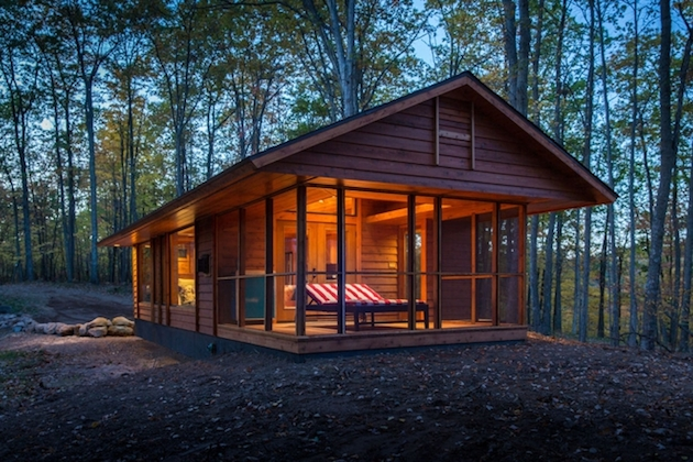400 Square Foot Micro Traveling Cabin   Inthralld
