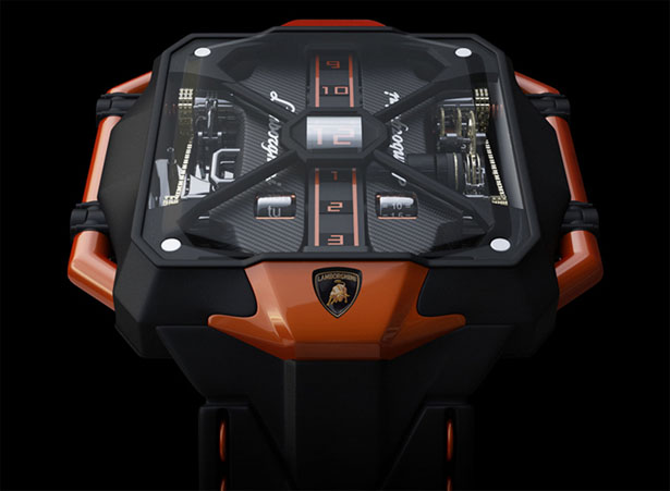 Avenger Vertical Tourbillon Watch by Marko Petrovic   Modern Industrial Design and Future Technology - Tuvie
