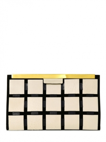 【LASO ラソ】【Pre-Order】New!!!2013/SS●MARNI●PATCHWORK LEATHER CLUTCH マルニ