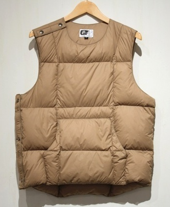 ENGINEERED GARMENTS(エンジニアドガーメンツ) DOWN BODY VEST-TAFFETA Digital-Mountain
