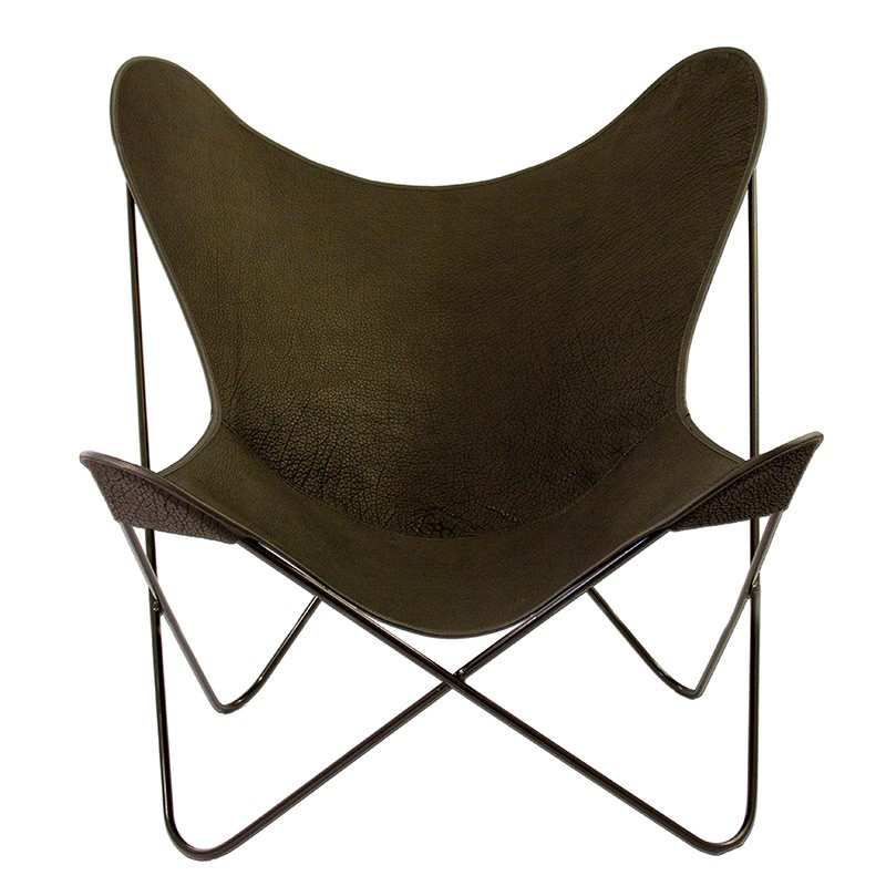 Parabellum Collection - Butterfly Chair- Black with Black Powder Coated Hardware - Collaborations